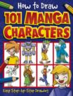Image for How to draw 101 manga characters