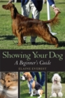 Image for Showing your dog  : a beginner's guide