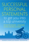 Image for Successful personal statements to get you into a top university