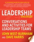 Image for Leadership dialogues: stimulating conversations to support leadership