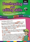 Image for Proofreading and Editing Skills : Practical Activities Using Text Types : Upper