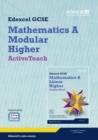 Image for GCSE Mathematics Edexcel 2010: Spec A Higher ActiveTeach