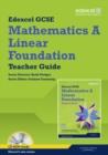 Image for Edexcel GCSE mathematicsA,: Linear foundation