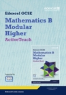 Image for GCSE Mathematics Edexcel 2010: Spec B Higher ActiveTeach