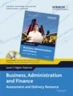 Image for Business, administration and finance  : assessment and delivery resourceLevel 2 higher diploma