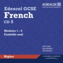 Image for Edexcel GCSE French Higher Audio CDs