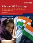 Image for Edexcel GCE history: Unit 2 student book