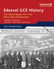 Image for Edexcel GCE History A2 Unit 3 C2 The United States 1917-54: Boom Bust & Recovery