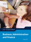 Image for Edexcel diploma business, administration and finance  : level 1 foundation diploma