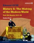 Image for Edexcel GCSE History A, The making of the modern worldUnit 2B,: Russia 1917-39