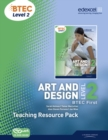 Image for BTEC Level 2 First Art and Design Teaching Resource Pack