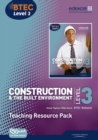 Image for Construction & the built environmentLevel 3, BTEC National,: Teaching resource pack