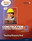Image for Construction, BTEC First, level 2: Teaching resource pack