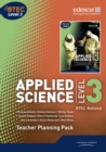 Image for Applied science  : BTEC national, level 3: Teacher planning pack