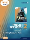 Image for Public services, BTEC First Level 2: Teacher resource pack