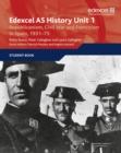 Image for Edexcel AS historyUnit 1,: Republicanism, civil war and Francoism in Spain, 1931-75
