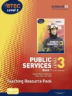 Image for Public services, level 3 BTEC National: Book 1