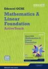 Image for GCSE Maths Edexcel 2010: Spec A Foundation ActiveTeach Pack with CDROM