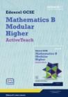 Image for GCSE Maths Edexcel 2010: Spec B Higher ActiveTeach Pack