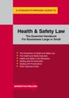 Image for A straightforward guide to health and safety law