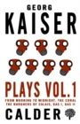 Image for Plays: Vol 1