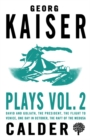 Image for Plays: Vol 2
