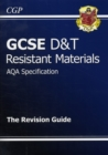 Image for GCSE Design & Technology Resistant Materials AQA Revision Guide (A*-G Course)