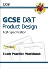 Image for GCSE D&T Product Design AQA Exam Practice Workbook (A*-G Course)