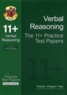 Image for 11+ Verbal Reasoning Practice Papers: Standard Answers (for GL & Other Test Providers)