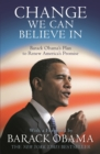 Image for Change we can believe in  : Barack Obama's plan to renew America's promise