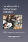 Image for Sociolinguistics and language education