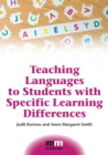 Image for Teaching languages to students with specific learning differences