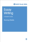 Image for Essay writing  : a student's guide