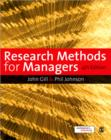 Image for Research methods for managers