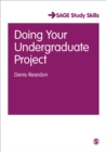 Image for Doing your undergraduate project
