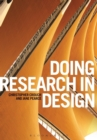 Image for Doing research in design