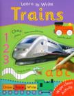 Image for Learn to Write With Trains
