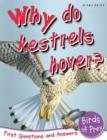 Image for Why do kestrels hover?