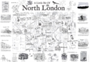 Image for A London Country Diary Poster Map