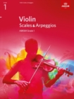 Image for Violin scales & arpeggios  : from 2012: ABRSM grade 1