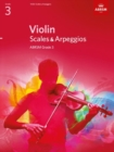 Image for Violin scales & arpeggios  : from 2012: ABRSM grade 3