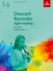 Image for Descant Recorder Sight-Reading Tests, ABRSM Grades 1-5 : from 2018