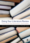 Image for Doing your literature review  : traditional and systematic techniques