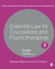 Image for Essential law for counsellors and psychotherapists