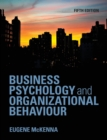 Image for Business psychology and organizational behaviour