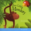 Image for One little monkey  : a pop-up story about numbers