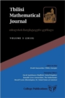 Image for Tbilisi Mathematical Journal Volume 3 (2010)