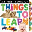 Image for My first book of  things to learn