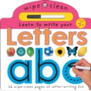 Image for Letters : Wipe Clean Learning