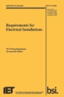 Image for Requirements for electrical installations  : IET wiring regulations, seventeenth edition